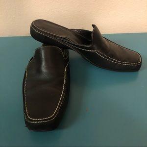 Cole Haan black mules 7.5B